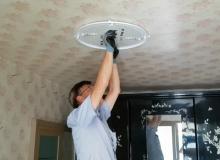 [고령]거동불편 저소득층 원격조정 LED 등 설치 사업