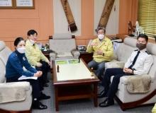 [고령]강력한 사회적 거리두기 강화를 위한 주요기관장 회의 개최